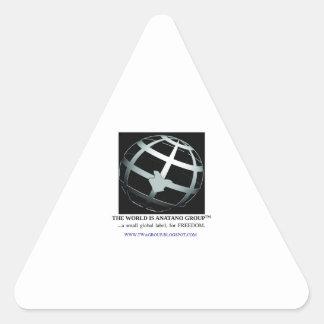 TWAGroup - triangle sticker. Triangle Sticker