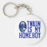 Twain es mi Homeboy Llaveros Personalizados