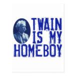 Twain es mi Homeboy Postales