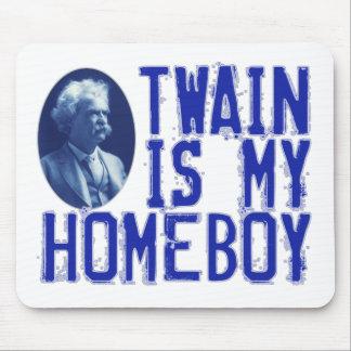 Twain es mi Homeboy Tapetes De Ratones