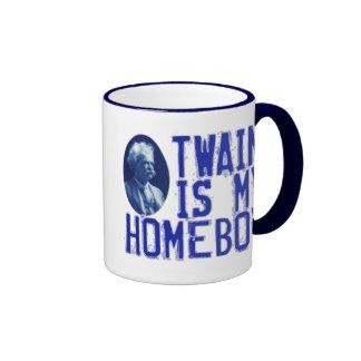 Twain es mi Homeboy Tazas De Café