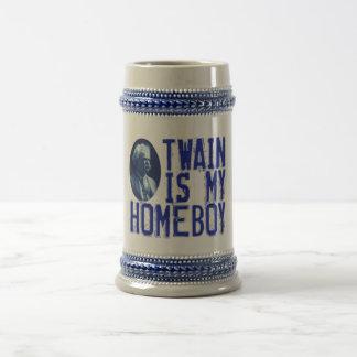 Twain Is My Homeboy 18 Oz Beer Stein