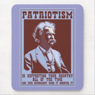 Twain -Patriotism Mouse Mats