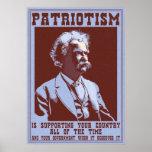 Twain -Patriotism Posters