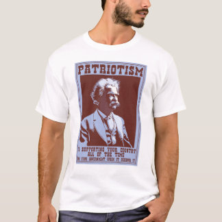 Twain -Patriotism T-Shirt