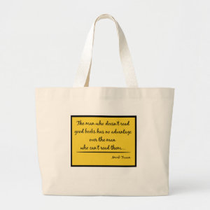 Twain Quote bag