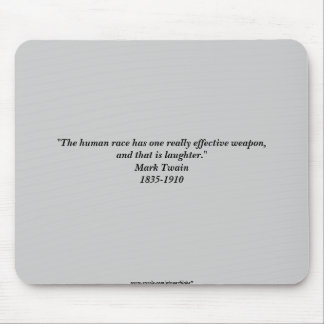 Twain Quote Mouse Pad