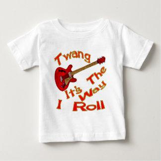 Twang It's The Way I Roll Tee Shirt