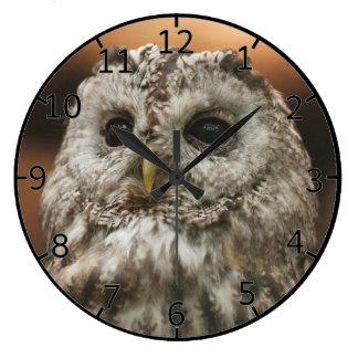 Twany Owl Wallclocks
