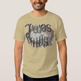 """""""'Twas Brillig"""" Steampunk Pocketwatch in Copper T-shirt"""
