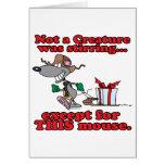 twas el dibujo animado del ratón del navidad de la