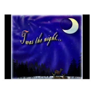 Twas la postal de la noche