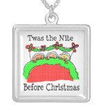 Twas Night Before Christmas Custom Necklace