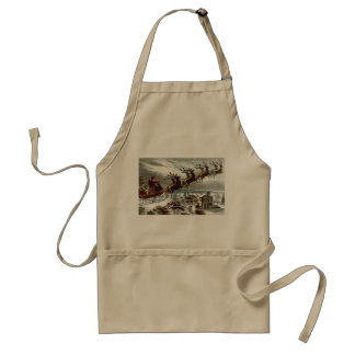 Twas the Night Before Christmas Aprons