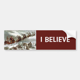 Twas the Night Before Christmas Bumper Stickers