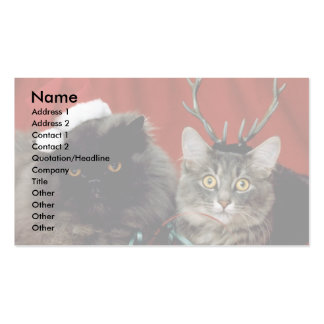 T'was The Night Before Christmas Double-Sided Standard Business Cards (Pack Of 100)