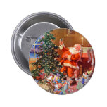 'Twas the Night Before Christmas 2 Inch Round Button