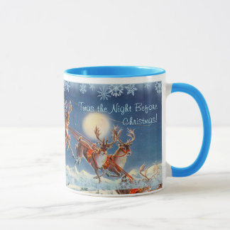 'Twas the NIGHT BEFORE CHRISTMAS by SHARON SHARPE Mug