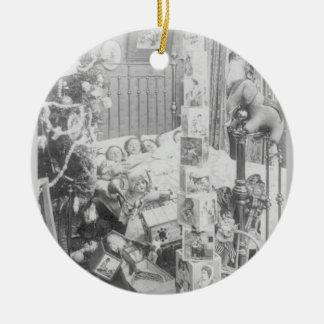 Twas the Night Before Christmas Ceramic Ornament