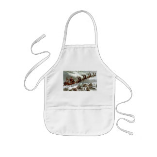 Twas the Night Before Christmas Kids' Apron
