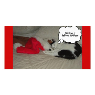 Twas the Night before Christmas Kitten Card