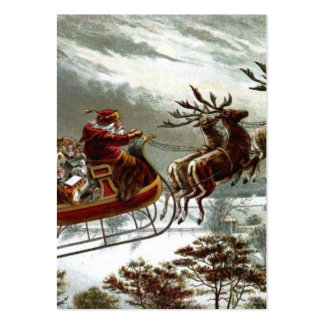 Twas the Night Before Christmas Large Business Card