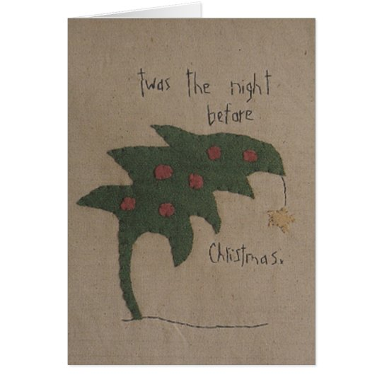 Twas The Night Before Christmas Note Card