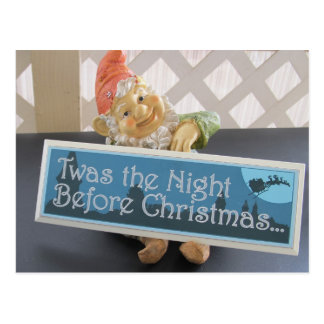 Twas The Night Before Christmas Post Card
