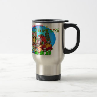 Twas the Night Before the Zombies 15 Oz Stainless Steel Travel Mug