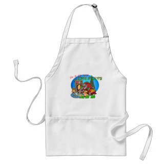 Twas the Night Before the Zombies Adult Apron