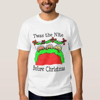 Twas the Nite Before Christmas T-shirt