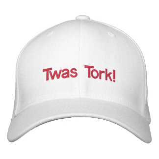 ¡Twas, Tork! Gorras Bordadas