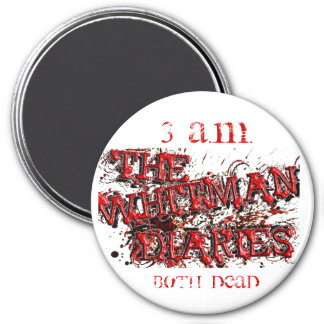 TWD FLYER HIGHLIGHTED copy, 3 A.M., BOTH DEAD 3 Inch Round Magnet