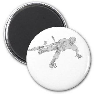 Tweaked 2 Inch Round Magnet