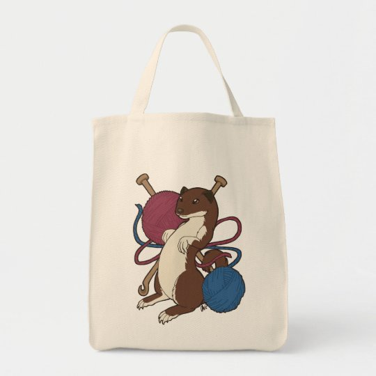 Tweasel Sack Tote Bag