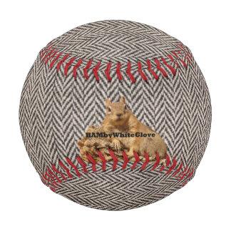 Tweed Baseball Squirrel Logo -  HAMbyWhiteGlove