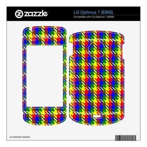 Tweed Multi Skin For LG Optimus 7