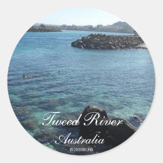 Tweed River Sticker 2