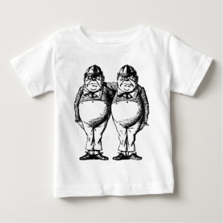 Tweedle Dee and Tweedle Dum Baby T-Shirt