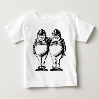 Tweedle Dee and Tweedle Dum Inked Baby T-Shirt