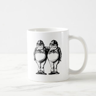 Tweedle Dee and Tweedle Dum Inked Coffee Mug