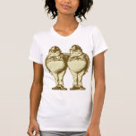 Tweedle Dee and Tweedle Dum Inked Sepia Shirt