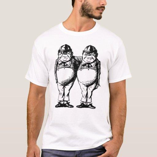 Tweedle Dee and Tweedle Dum Inked T-Shirt