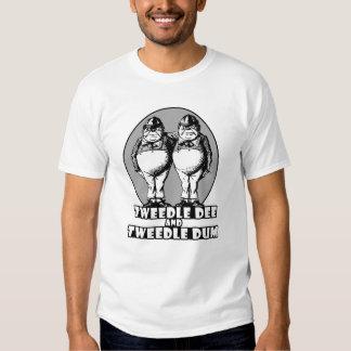 Tweedle Dee and Tweedle Dum Logo Tee Shirt