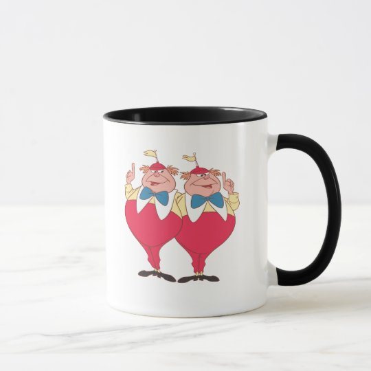 Tweedle Dee and Tweedle Dum Mug