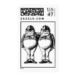 Tweedle Dee and Tweedle Dum Postage