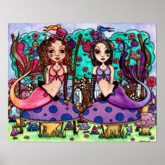 Tweedle Dee and Tweedle Dum Poster