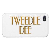 Tweedle Dee iPhone 4/4S Cover