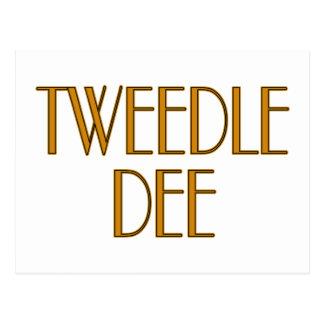 Tweedle Dee Postcard
