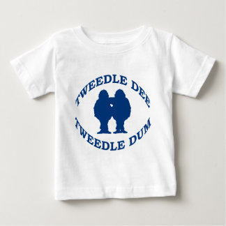 Tweedle Dee & Tweedle Dum Baby T-Shirt
